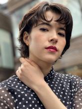 ナチュラルパーマ ショートヘア|ACQUA aoyamaのヘアスタイル