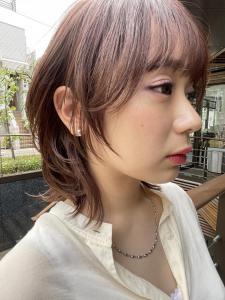 人気ボブウルフヘア|ACQUA aoyamaのヘアスタイル
