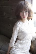 柔らかふんわりセミディ♪|ACQUA aoyamaのヘアスタイル
