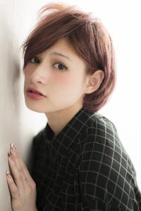 2013/AWトレンド!『ノーブルカラー×耳掛けショート』