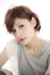 ☆2013/AWトレンド!『ノーブルカラー×耳掛けショート』☆