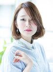 【春のイチオシ☆】大人可愛い耳かけボブスタイル♪