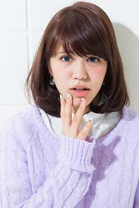 【春のイチオシ☆】大人可愛い厚めバングsweetボブスタイル♪