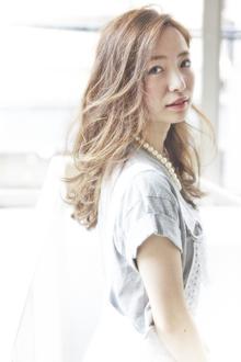 『ACQUA 表参道』☆SUMMER☆ロングウェーブ|ACQUA omotesandoのヘアスタイル