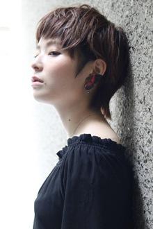 耳掛けショート|ACQUA omotesandoのヘアスタイル