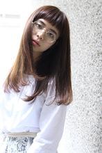 ショートバング×ストレートロング ACQUA omotesando 中岡 龍弥のヘアスタイル