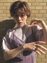 外国人風 ハンサムショート|ACQUA omotesandoのヘアスタイル