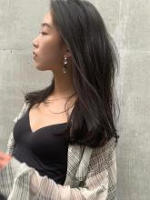大人可愛い 地毛風カラー ルーズヘア シアーベージュ|ACQUA omotesandoのヘアスタイル