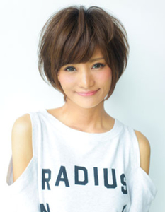 前髪&小顔カットに定評のある信頼の厚いAFLOATのトップデザイナー|AFLOAT D'Lのヘアスタイル