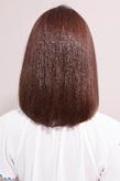 毛先ニュアンスで品の漂う清楚な雰囲気のツヤヘア
