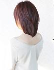 小顔に作るボリュームのあるミディアムヘア☆