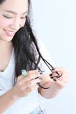 黒髪でも可愛いカチューム&三つ編みのハーフアップアレンジ