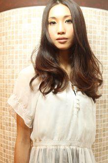 少女時代的ロング|AFLOAT NAGOYAのヘアスタイル