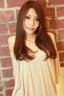 LOVE SWEET セミロング☆|AFLOAT NAGOYAのヘアスタイル