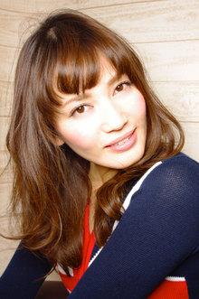 平子理沙風 愛されリラックスパーマ!!|AFLOAT NAGOYAのヘアスタイル