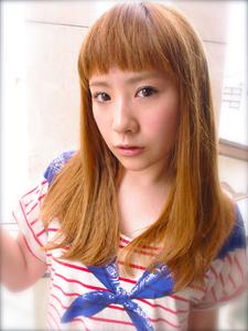 湿気に負けない!!紗栄子風カジュアルストレート!!|AFLOAT NAGOYAのヘアスタイル