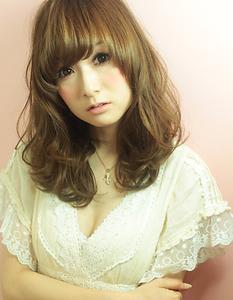 人気NO.1☆ Air in 小顔セミディー|AFLOAT NAGOYAのヘアスタイル