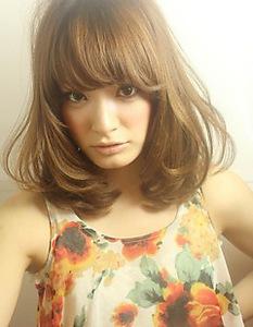 大人気のニュアンスカール☆☆☆|AFLOAT NAGOYAのヘアスタイル