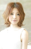 アフロート名古屋『小顔に見えるミディアム』|AFLOAT NAGOYAのヘアスタイル
