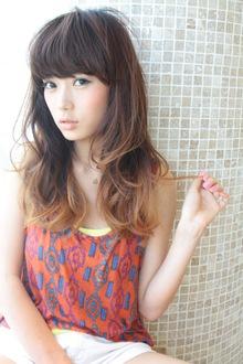 グラデーションカラー☆小悪魔カール|AFLOAT NAGOYAのヘアスタイル
