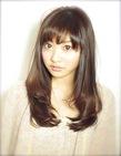 好印象な柔らかカーブストレートno.2|AFLOAT NAGOYAのヘアスタイル
