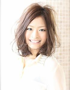 2012秋冬おすすめ☆簡単ミディアムパーマ☆|AFLOAT NAGOYAのヘアスタイル