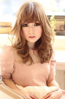 可愛い髪型☆春のパステルミディ|AFLOAT NAGOYAのヘアスタイル