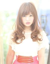 2013秋冬 巻き髪ロングヘア
