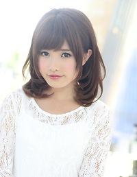 2013秋冬 黒髪 ミディアム髪型