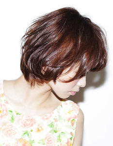 アフロート ルヴア☆大人かわいいショート AFLOAT RUVUAのヘアスタイル