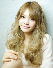 アフロート ルヴア☆外国人風 Soft Wave × MeltyColor|AFLOAT RUVUA 保坂 誠一のヘアスタイル