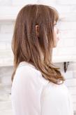 アッシュ系に生まれ変わった自然な髪色