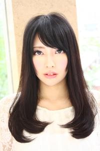 2012 黒髪 ロングヘアスタイル