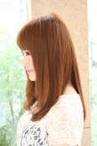 2012 冬 ヘアスタイルロングストレート(髪型)