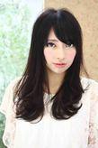 2012 冬 ヘアスタイル黒髪ロングパーマ(髪型)