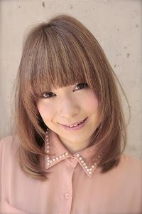 2012 冬 ミディアム スタイル (髪型)オススメカラー