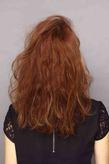 海外セレブ髪型 ピンクグレージュカラー