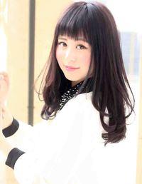 2013春夏 黒髪ロング髪型