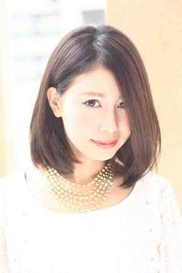 2013春夏 海外セレブ髪型(ヘアカタログ)黒髪ミディアムボブ
