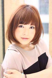 2013春夏 ヘアカタログ ボブ髪型