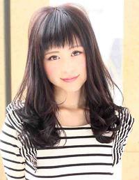 2013夏 ヘアカタログ 黒髪ロング