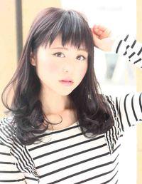 2013夏 黒髪ロングヘア