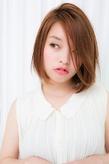 ストレートパーマ ショート|air-OSAKA (心斎橋)のヘアスタイル
