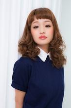 デジタルパーマ ロング|air-OSAKA (心斎橋)のヘアスタイル