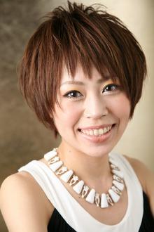 ☆カジュアルモードショートスタイル☆|albasanz 三条烏丸のヘアスタイル