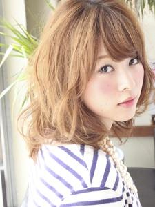簡単パーマで簡単可愛いい☆|ALICe by afloatのヘアスタイル