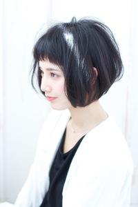 ショートバング大人ボブA219