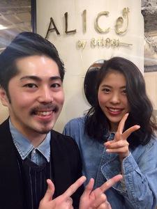 浅井剛史のリアルお客様スタイル379|ALICe by afloatのヘアスタイル