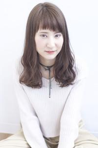 ショートバング☆重めナチュラルミディ【y−40】