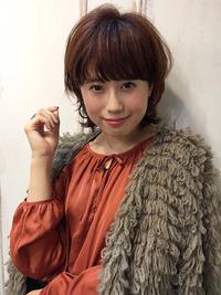 愛されマッシュショート ベリーピンク【y−91】